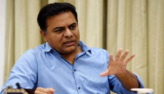 ktr 4 20,000 liters of drinking water is free: Minister KTR