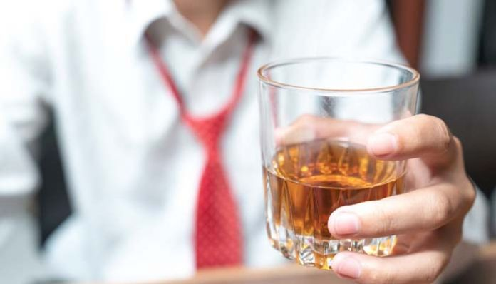 drinking alcohol Officers' drug-dinner party