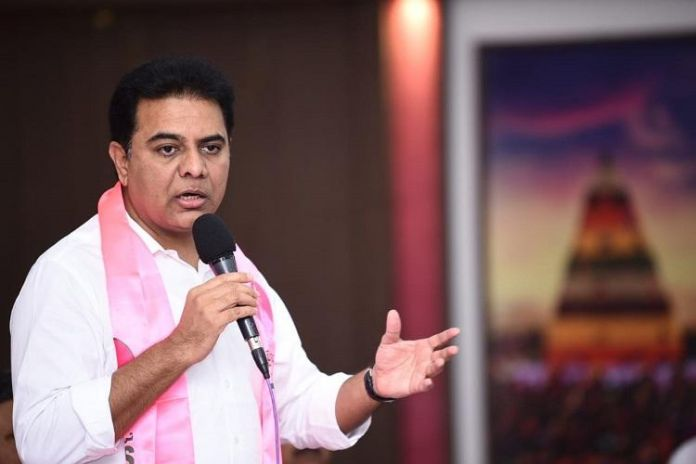 KTR New Image If the leaf that has everything is extinguished .. the leaf that has nothing will fly away
