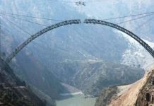 World's highest railway bridge