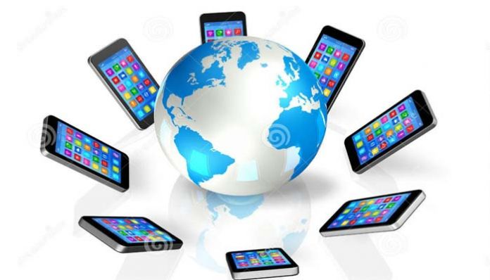 cell pone The world in the palm of the hand with the arrival of the cell
