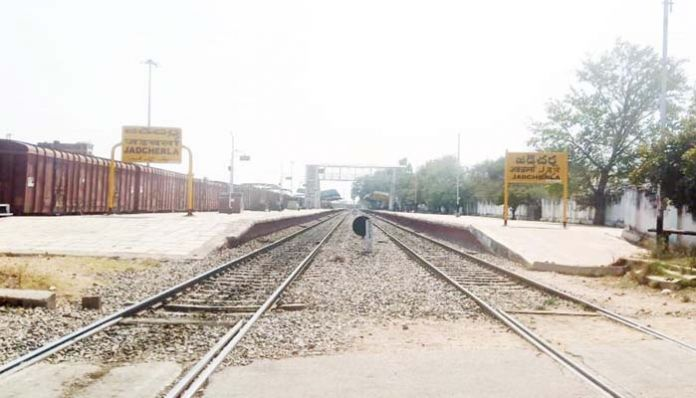 jedcharla Stoppage of trains .. Request for restoration