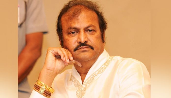 mohanbabu GHMC shock to dialogue king Mohan Babu ..