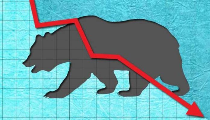 sensex 8 Massive collapse of markets with profit taking