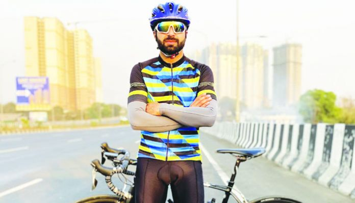 Guiness record cycling