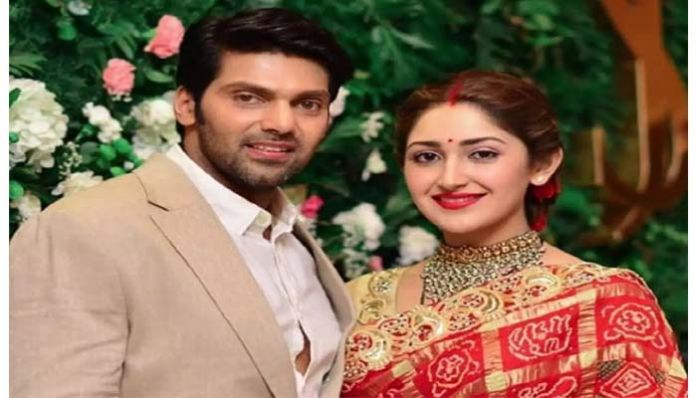 arya sayesha Hero showers compliments on wife..Lady Oriented Movie Confirm