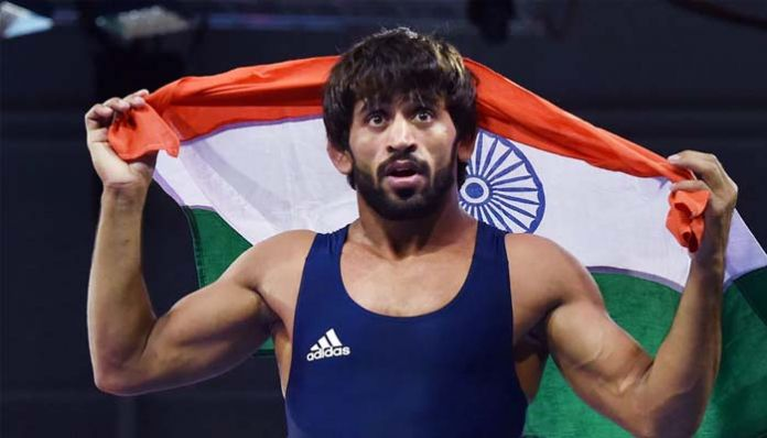 bajrang punia For a single blow .. Gold medal, number one rank