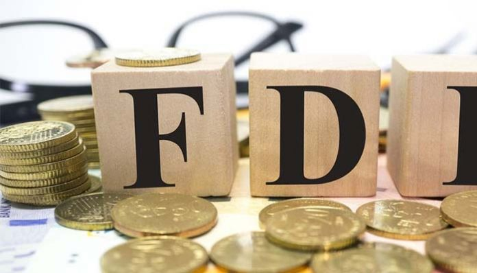 fdi Foreign investment increased by 22%.