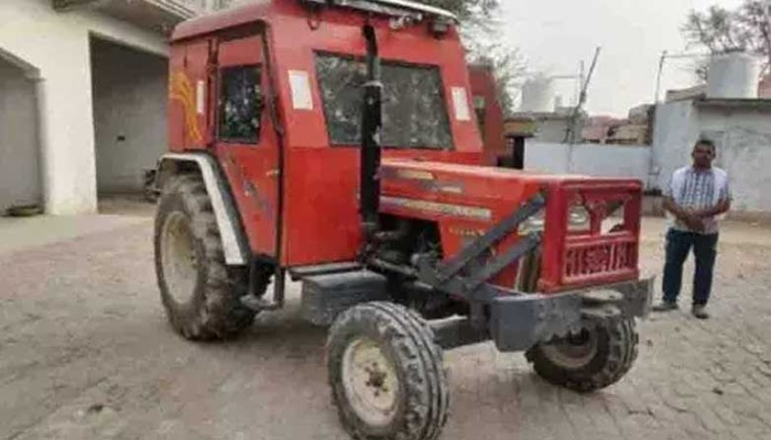 pjimage 7 4 Wow .. what an idea: The farmer who turned the tractor into a bullet proof