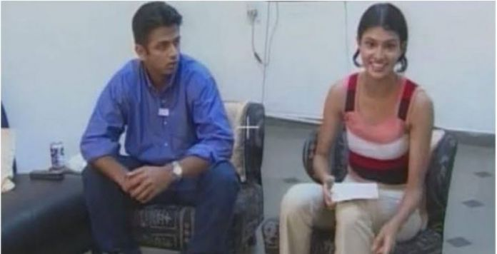 rahual dravid Dravid marry me .. The young woman who kept Diwal in a hotel room