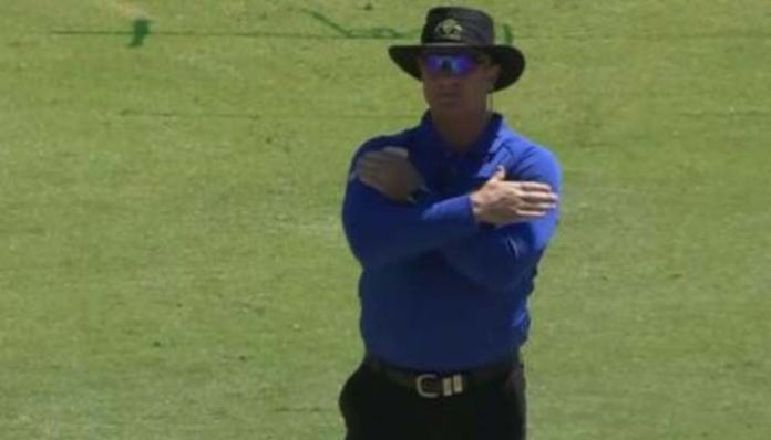 umpire The umpire changed his mind not to go to the DRS