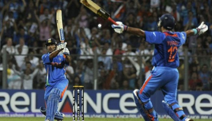dhoni yuvi Today in history .. India lift the World Cup after 28 years